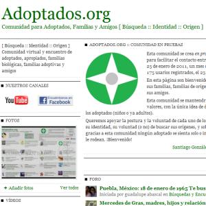 Adoptados.org :: La Comunidad Virtual